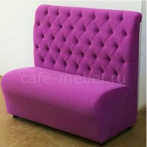 """Диван Манхеттен """"Фиолетовый"""" высокая спинка"""